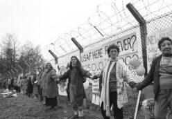 40th anniversary walk from Cardiff to Greenham