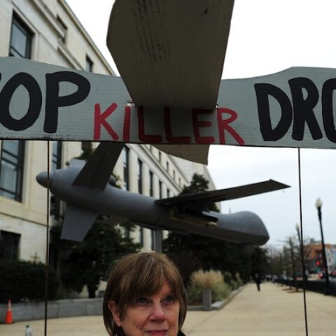 Say no to US military drone tests in UK skies: RAF Waddington