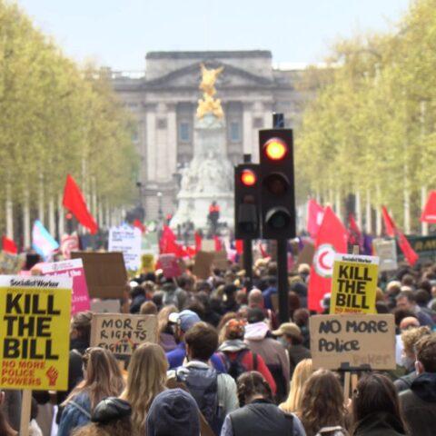 Protesters demand Kill the Bill