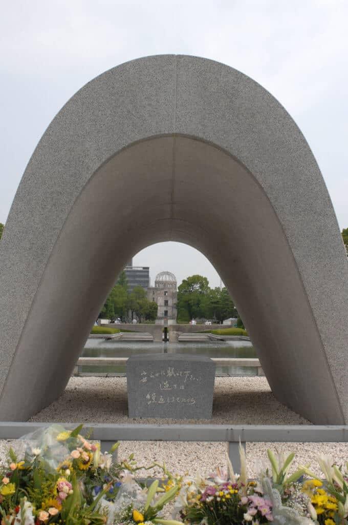The Hiroshima memorial