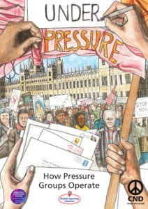 Front cover of our Under Pressure teaching pack