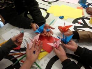 Sadako's Cranes workshop