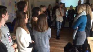 Workshop at Worcester University