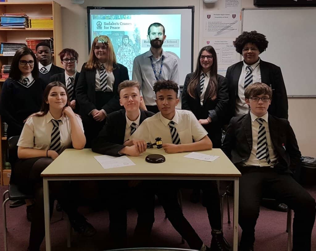 Truman On Trial and Sadako's Cranes workshops at Robert Napier School