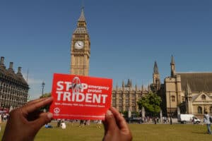 Stop Trident at Parliament